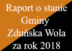 raport o stanie gminy zduńska wola za rok 2018